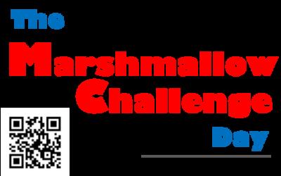 En première Suisse : The Marshmallow Challenge Day, édition 2018, le samedi 13.10.2018 Mall central Migros Avry-Centre